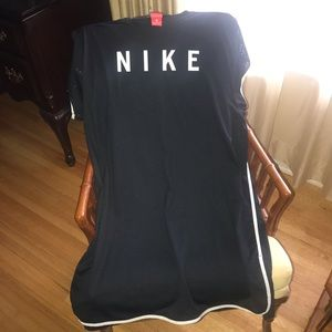 Nike athletic leisure dress.